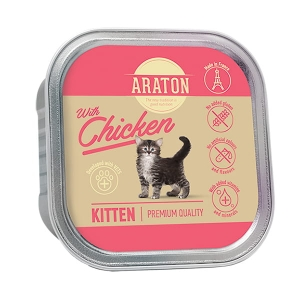 Araton Kitten Chicken 85g