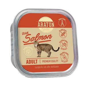 Araton Adult Cat After Sterilization Salmon 85g