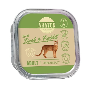 Araton Adult Cat Duck & Rabbit 85g