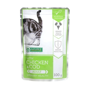 Nature's Protection Chicken & Cod Adult Urinary health 100g