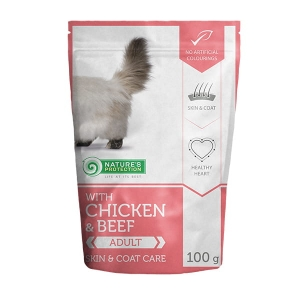 Nature's Protection Chicken & Beef Persian Long Hair 100g sasz.