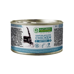 NP Kitten Starter Mousse Chicken 200g