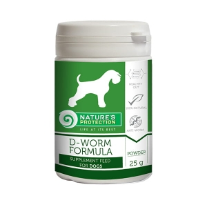 SUP D-worm formula for dogs 25g
