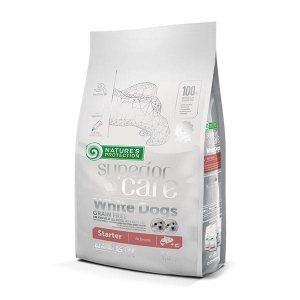 NP SC White Dogs Grain Free Salmon Starter All Breeds 10kg