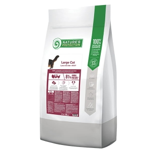 Natures Protection Large Cat Poultry 18kg
