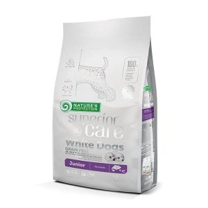 NP SC White Dogs Grain Free Salmon Junior All Breeds 1,5kg