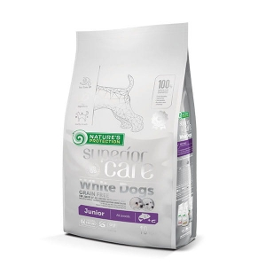 NP SC White Dogs Grain Free Salmon Junior All Breeds 10kg