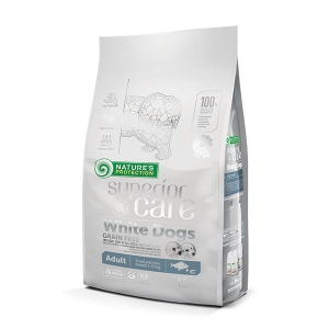 NP SC White Dogs Grain Free White Fish Adult Small Breeds 1,5kg