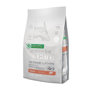 NP SC White Dogs Grain Free Salmon Adult Small Breeds 1,5kg