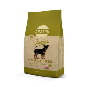 Araton Dog Junior Poultry All Breeds 3 kg