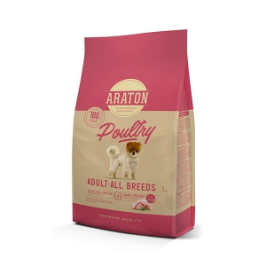 Araton Dog Adult Poultry All Breeds 3 kg