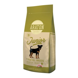 Araton Dog Junior Poultry All Breeds 15 kg