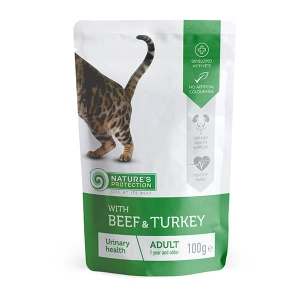 "NP Adult Cat Beef & Turkey ""Urinary health"" 100g"